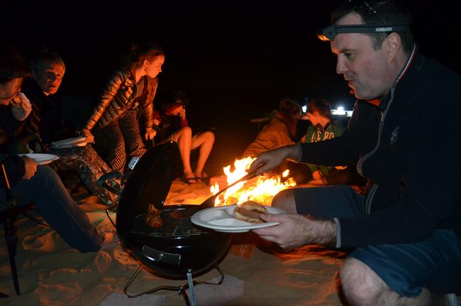 Al Qudra Lakes Desert Barbecue
