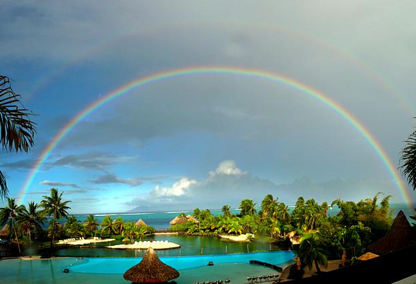 Arc-en-ciel Tahiti