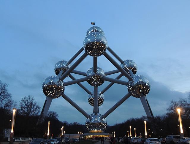 Atomium Heizel Brussels