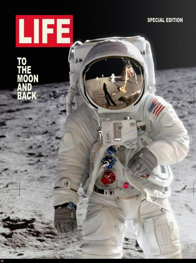 Apollo 11 Life Magazine
