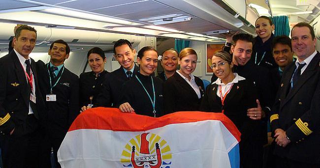 ATN Conviasa crew van Caracas naar Buenos Aires