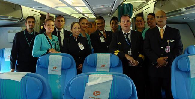 Conviasa - Air Tahiti Nui crew CSS-MAD