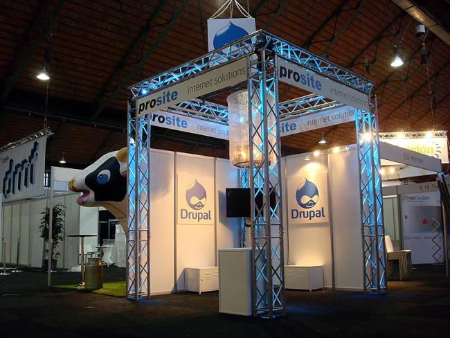 Prosite stand op DMF 2010