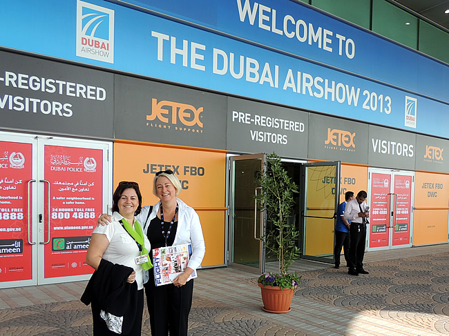 Inkom Dubai Airshow 2013