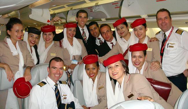Emirates Crew