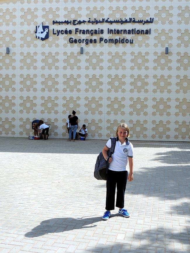 Eerste schooldag Roos : LFIGP primaire
