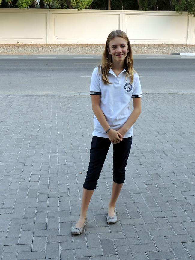 Derde schooldag Sara