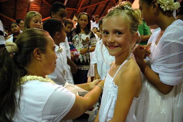 Eerste Communie Sara Ottenbourg Punaauia 2009