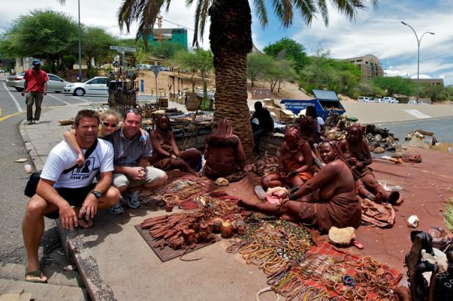 Lokale kunstmarkt Windhoek