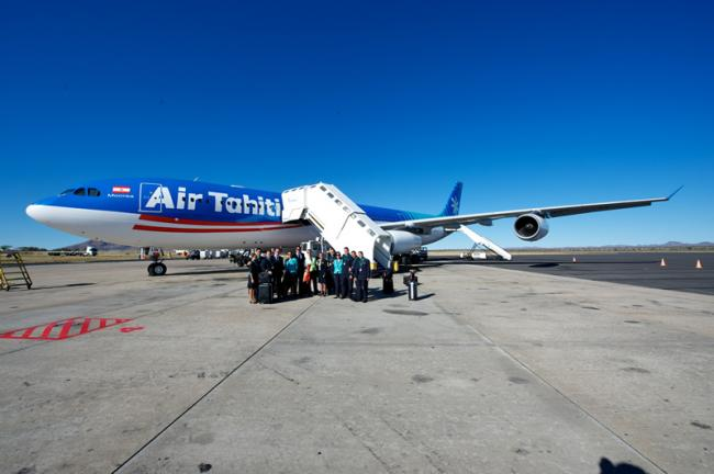 Air Tahiti Nui in Windhoek, Namibië