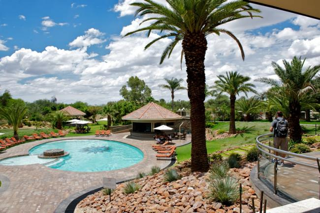 Zwembad Safari Hotel Windhoek