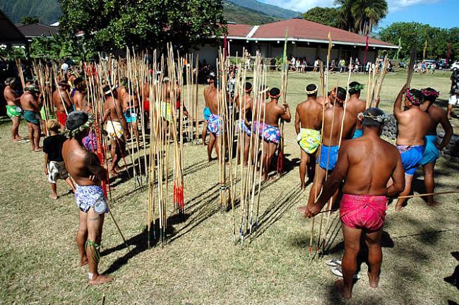 Javelot Heiva i Tahiti 2011