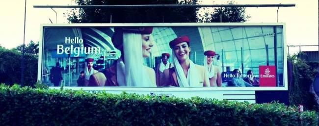 Emirates 'Hello Belgium'