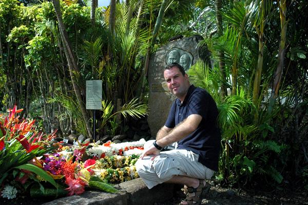 Graf van Jacques Brel op Atuona
