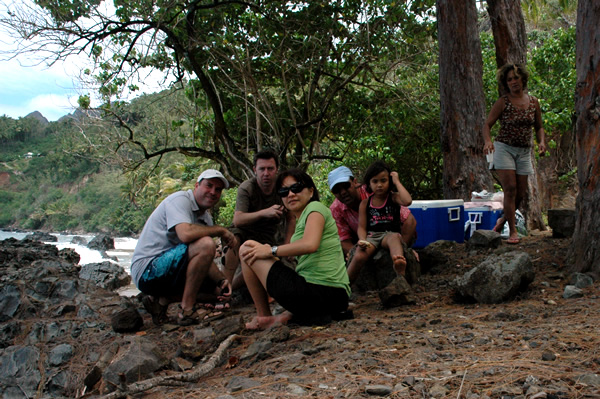 Picknick op Puamau