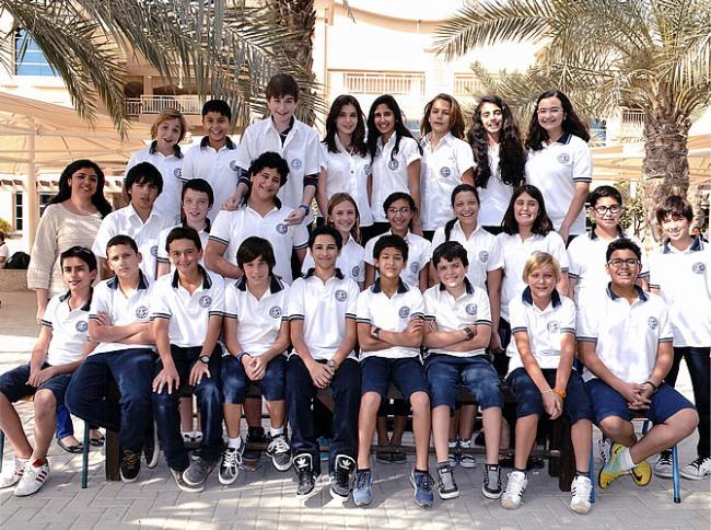 Photo de classe Sara Ottenbourg - LFIGP Dubai, 5/1