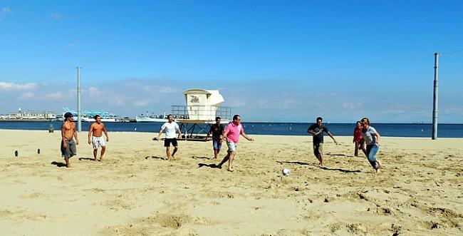 Beach Soccer San Pedro