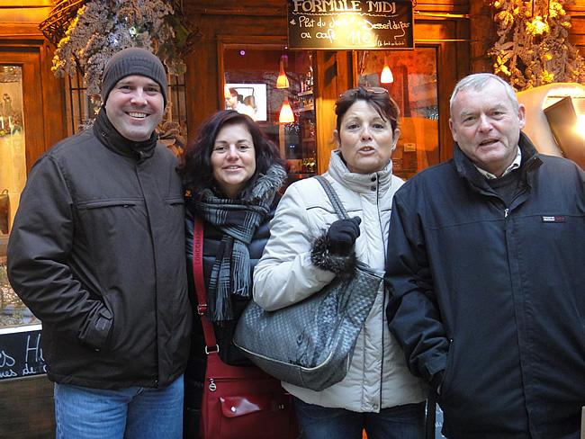 Jan, Kristel, Marie-Paule en Janick