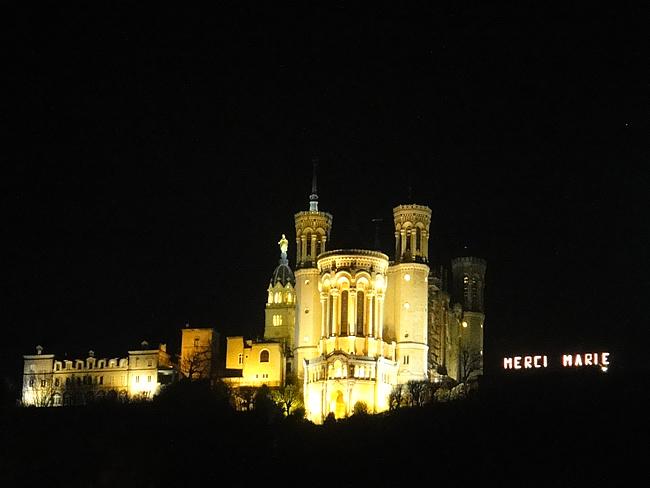 Notre Dame de Fourvière van Lyon