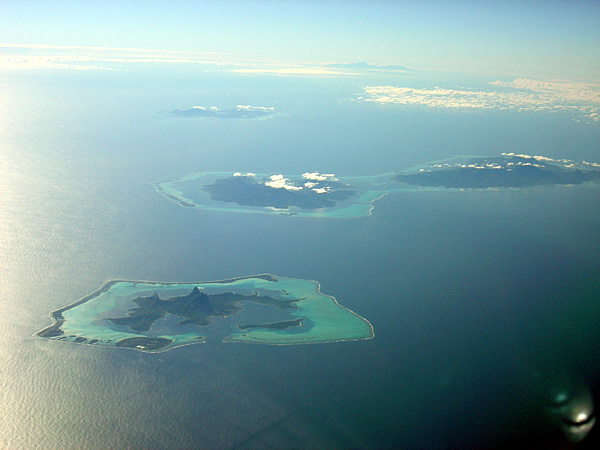 Bora Bora vanop FL390