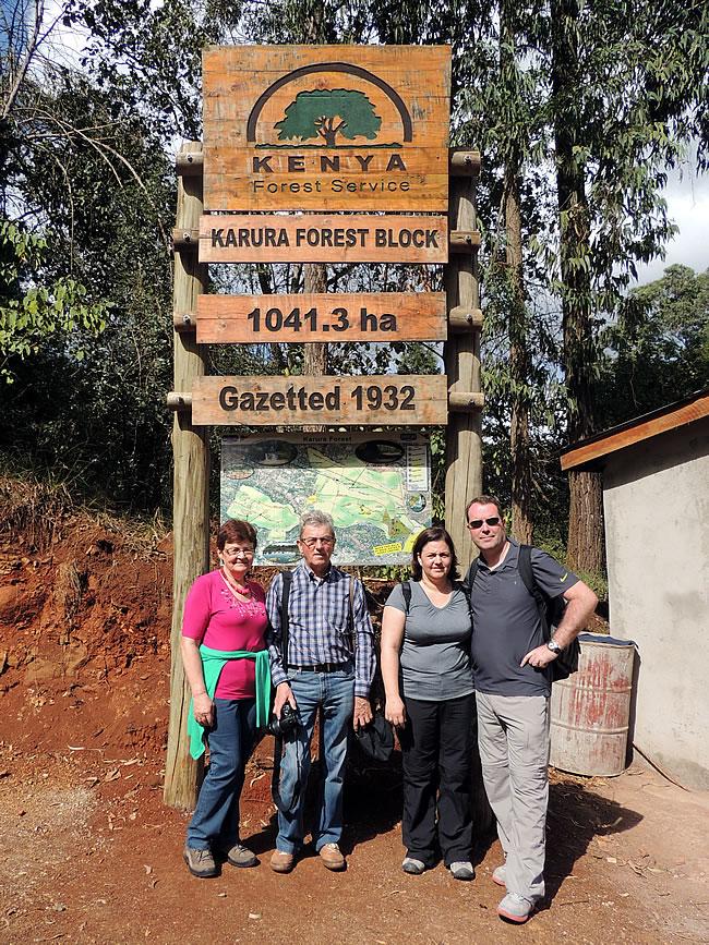 Karura Forest Reserve Nairobi