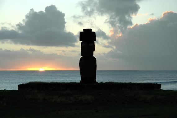 Sunset Ahu Ta<br /> hai