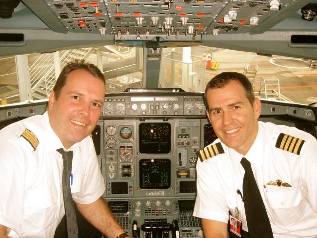 Jan en Patrick in A340