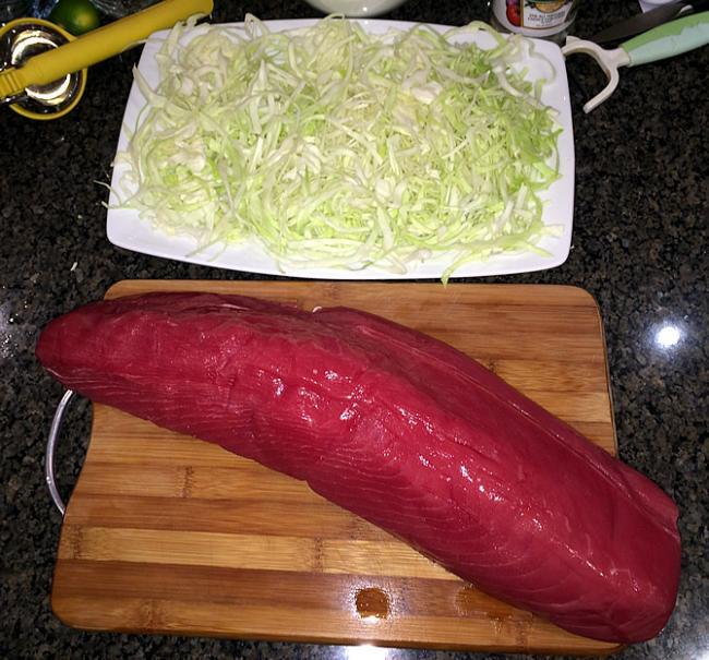 2,5kg rauwe tonijn
