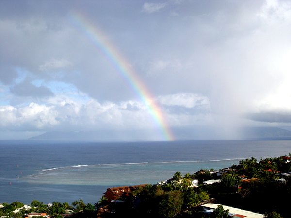 Regenboog Tahiti