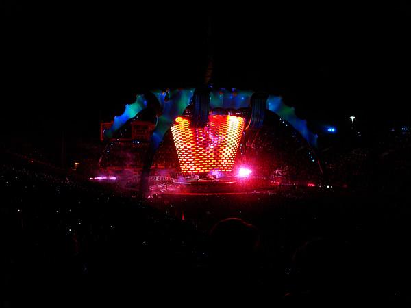 U2 concert in Las Vegas