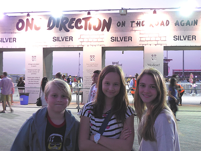 One Direction in Dubai (Sevents Stadium)
