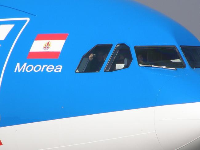 """Air Tahiti Nui A340 """"Moorea"""" in EDI"""