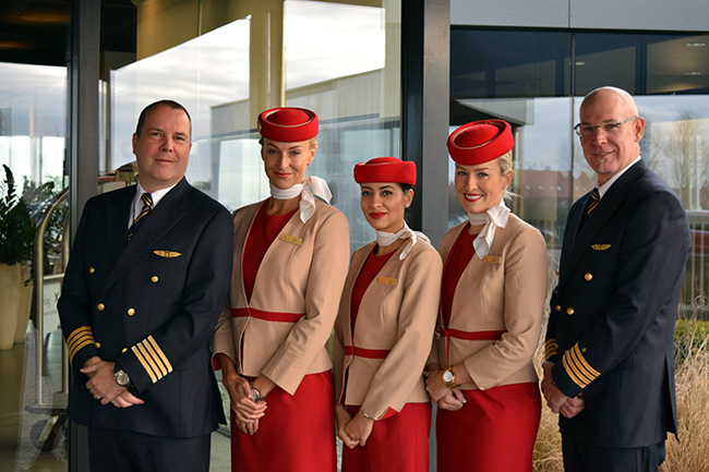 A319CJ crew