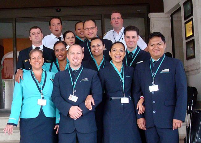 ATN Crew Cancun Charter