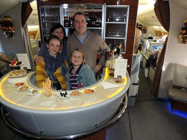 Upperdeck bar van A380