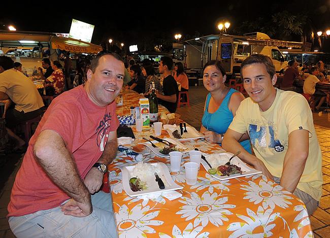 Met Bart Lapers in Tahiti