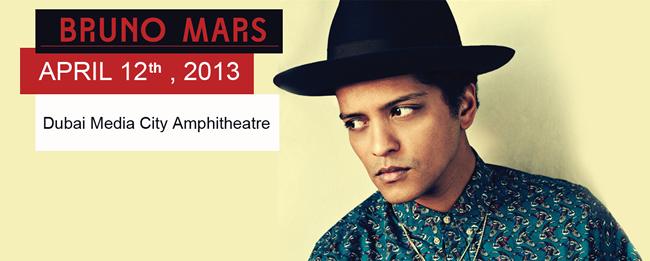Concert Bruno Mars in Dubai