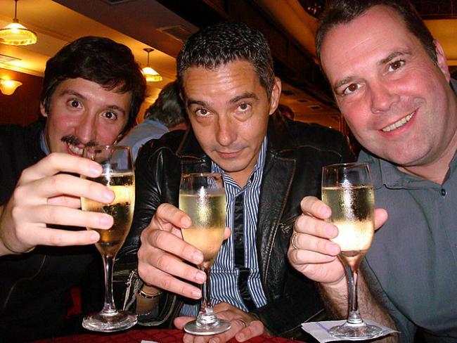 Ezequiel Jaime, Bruno Boissard en Jan Ottenbourg