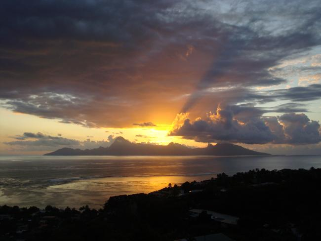 Sunset Moorea
