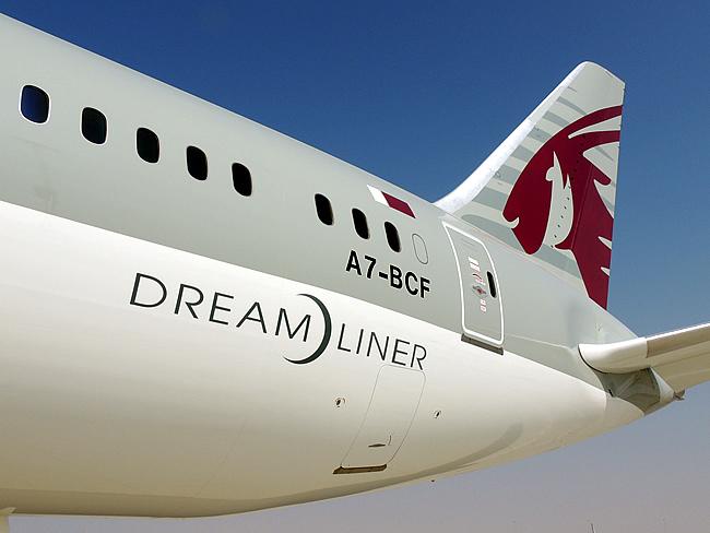 Qatar B787 'dreamliner'