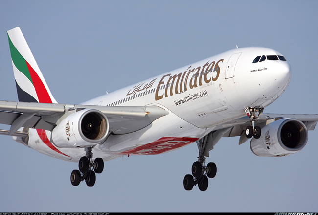 A330 Emirates Airlines