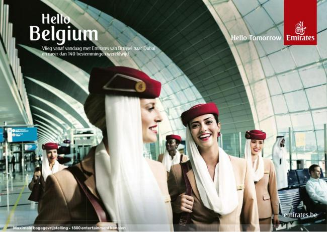 Hello Belgium by Emirates