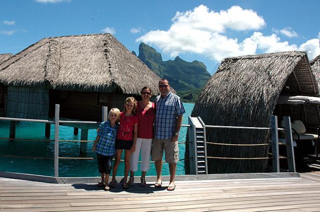 Overwater Bungalows Four Seasons Bora Bora