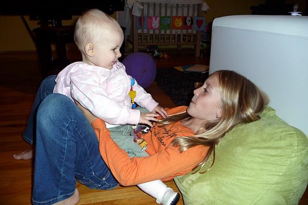 Lily en Sara