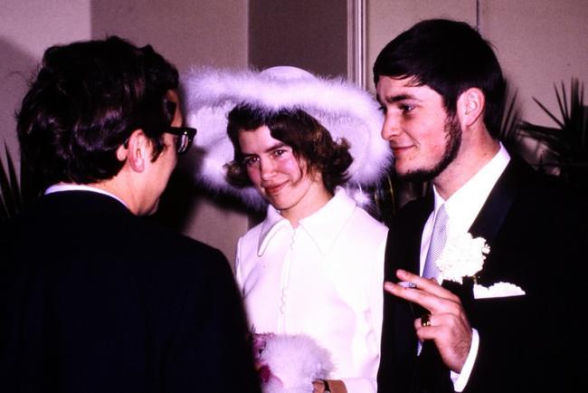 Huwelijk Rita Vincke & Pierre Ottenbourg op 24 december 1971