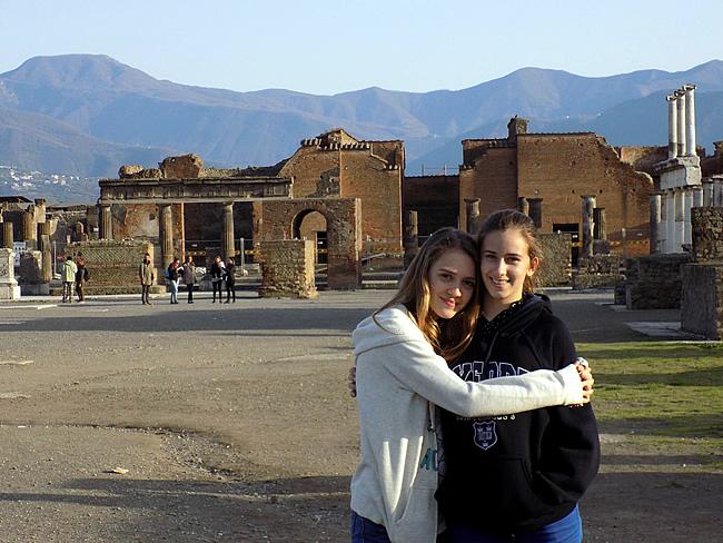 Opgravingen in Ostia