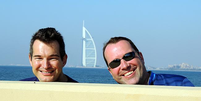 Burj Al Arab from The Palm