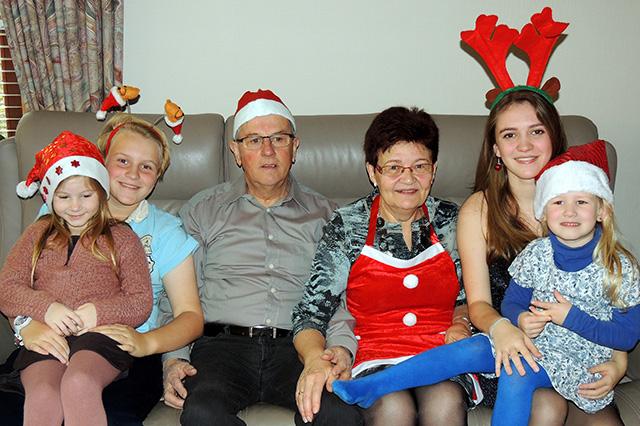 Vake, Moeke en de kleinkinderen
