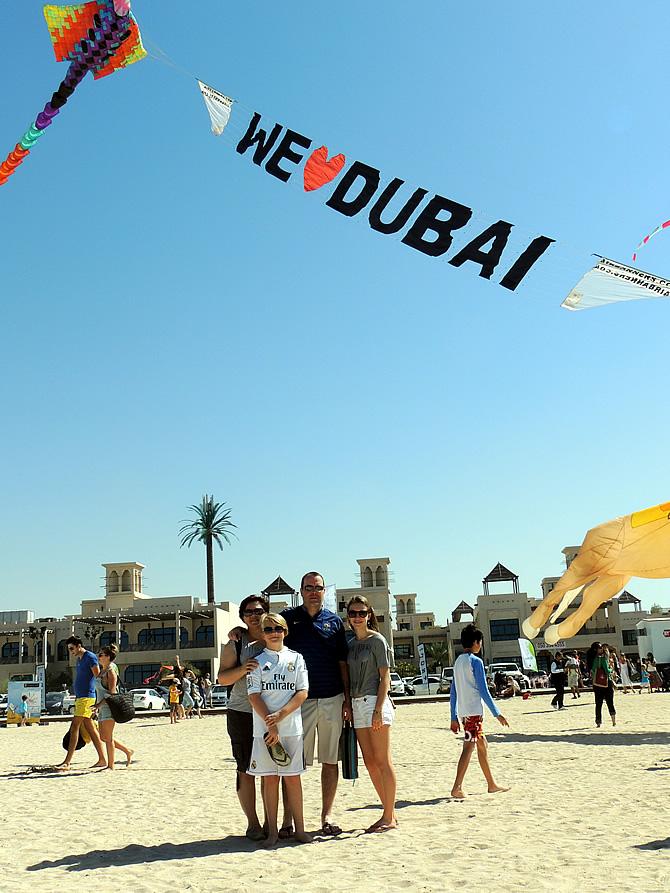 Kite Festival Dubai 2015