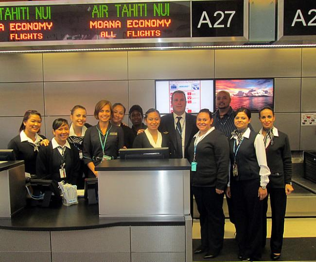 Air Tahiti Nui check-in LAX